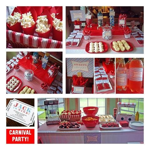 Carnival party theme ~ lots more on this board