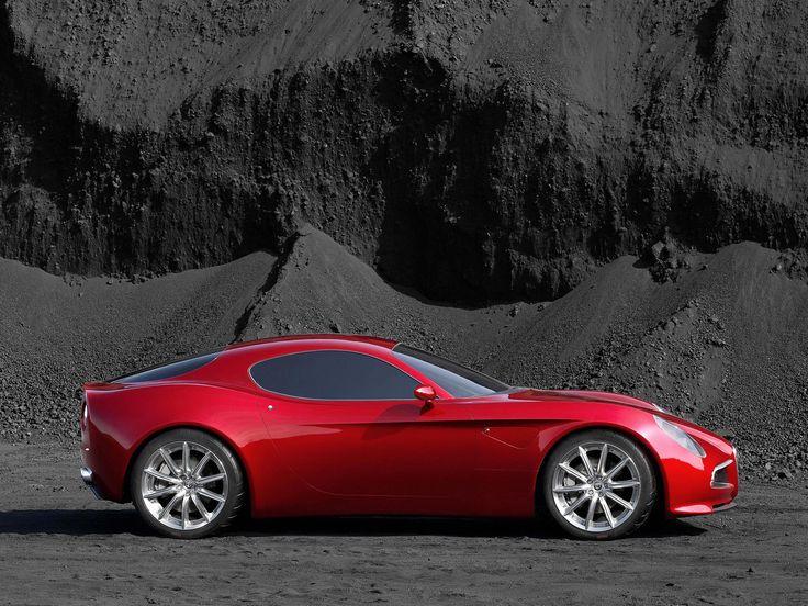 Alfa 8C - the most beautiful car of its generation
