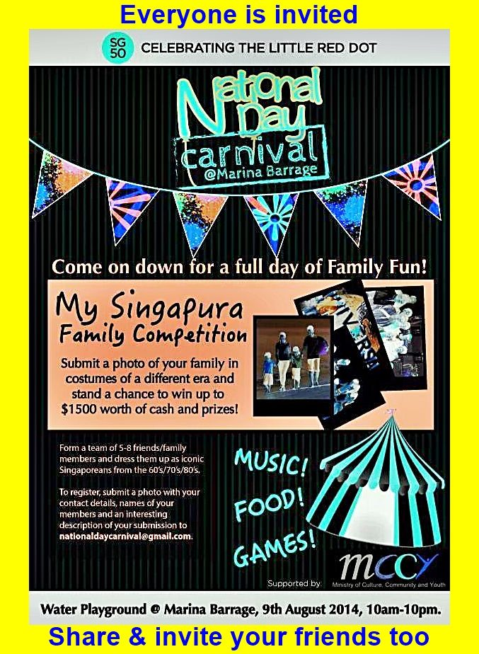 Achieving something , great for your country , your nation , your people & that is why the Sg djs are attempting to break the Guinness world record on Singapore national day 9TH of August. United as one , over 200+ local djs will preform a team relay .Come & support your local djs with your friends ,family & enjoy the carnival at the marina barrage from 9 am onward . Come celebrate our nation birthday & be part of a rocking musical event  Look forward to seeing you there .