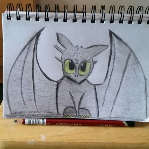 Toothless shaded