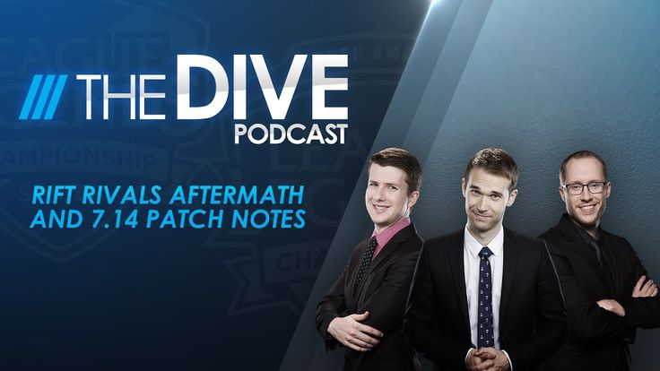 The Dive: Rift Rivals Aftermath and 7.14 Patch Notes https://www.youtube.com/watch?v=9na0GvFVu1Q #games #LeagueOfLegends #esports #lol #riot #Worlds #gaming