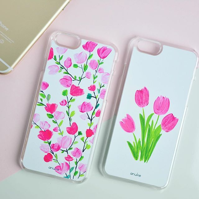 Primavera and Tulips - iPhone and Samsung case #anukedesign #iphonecase #samsungcase #primavera #tulips