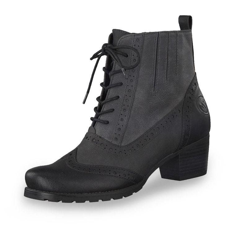 Marco Tozzi Rosandra Stiefelette für nur 49,95€ (04.09.17) in Farbe grau/schwarz jetzt bei gebrüder götz online kaufen!
