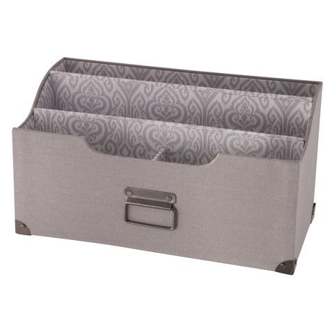 The Raymond Waites Collection Of Home Office Organizers Featuredesigner  Printed Fabrics And Is Perfect Decorative Organizer To Hold Your Paperwork  And ...