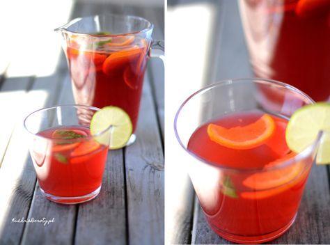 herbata mrożona, herbata mrożona przepis, napoje chłodzące, lekkie napoje, co pić w upały,