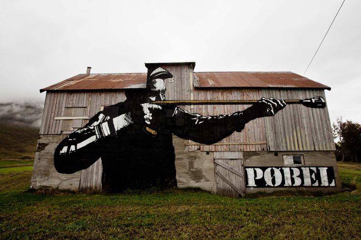 From Dolk & Pøbel's legendary art project in Lofoten.
