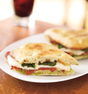 Roasted Tomato & Mozzarella Sandwich