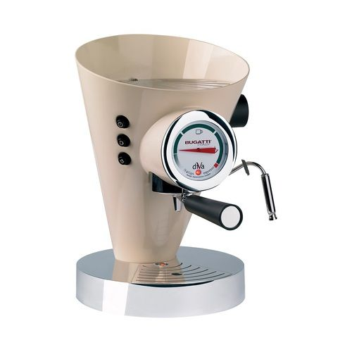 The Bugatti Diva Espresso Coffee Machine Cream is at the premium end of luxury coffee machines. With a unique shape and style the Bugatti Diva Espresso Coffee Machine Cream will make authentic tasting coffee whilst providing an element of luxury to any kitchen. Save £111 off RRP! Click https://www.nucasa.co.uk/bugatti-diva-espresso-coffee-machine-cream/ to find out more about the Bugatti Diva Espresso Coffee Machine Cream #bugatti #coffeemachines