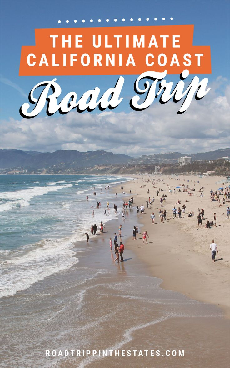 The ultimate California coast road trip! Get the full itinerary over at Road Trippin' The States.