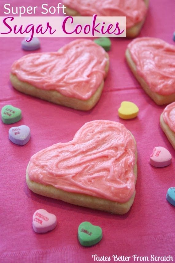 Valentine Sugar Cookies : from Tastes Better From Scratch