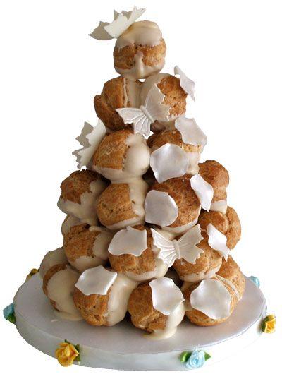Cream Puffs Cream Puff Tower Croquembouche French