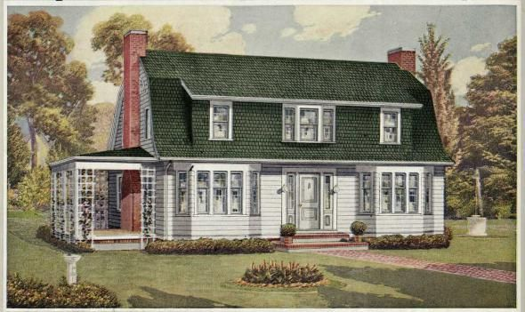 Американский дом начала 20-го века.Часть 1.