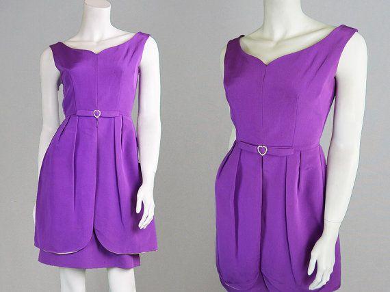 Vintage 60s Mod Dress Wiggle Dress Sheath Dress by ZeusVintage