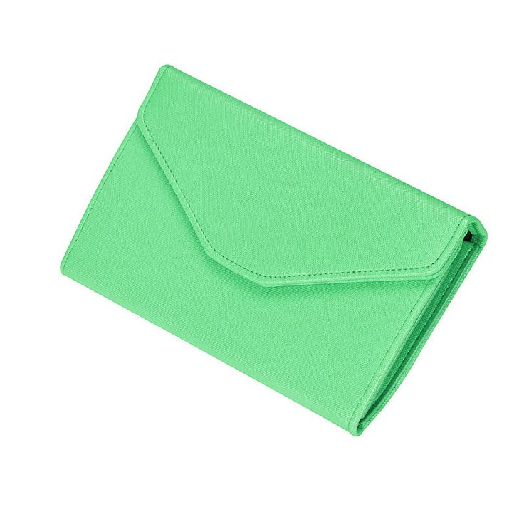 Simple classic exquisite women wallet as gift for female friend delicate Clutch Long Leather Wallet Card Holder Handbag