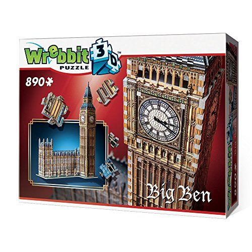 Big Ben 3D Jigsaw Puzzle, 890-Piece