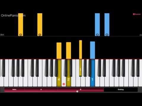 Naruto - Sadness and Sorrow - EASY Piano Tutorial - How to play Sadness and Sorrow - ナルト - YouTube