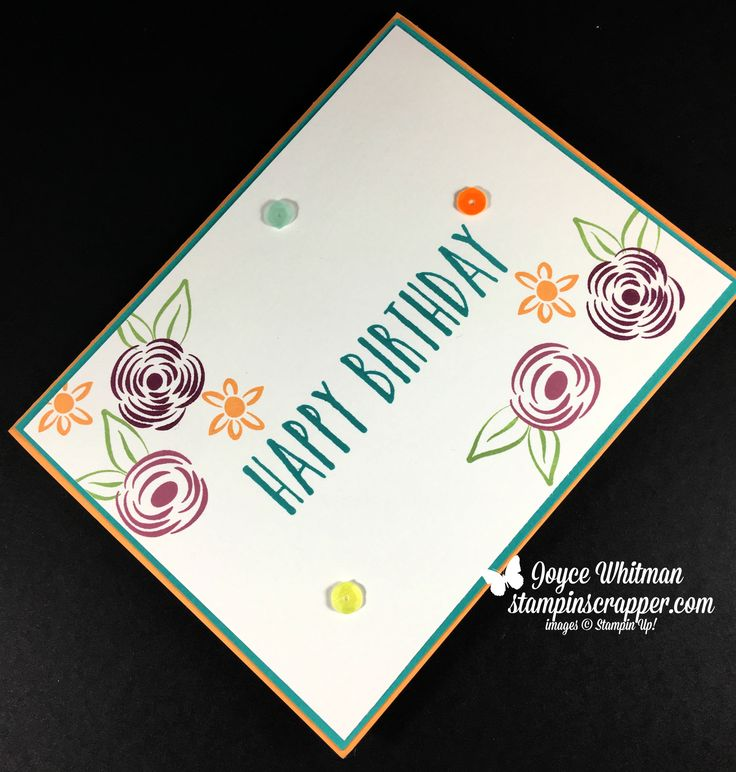3679 best Stampin\' Up Card Ideas images on Pinterest | Birthdays ...