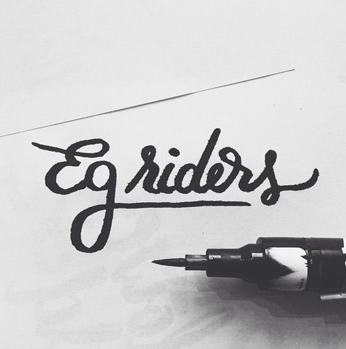 Egriders retro style bikes vintage bicycles handmade leather accessories bike bicycle velo bicicleta #art #bicycle #bike #graphic #handlettering #handlettering #handmade #lettering #letters #pen #retro #socks #typo #Typographic #vintage #egriders