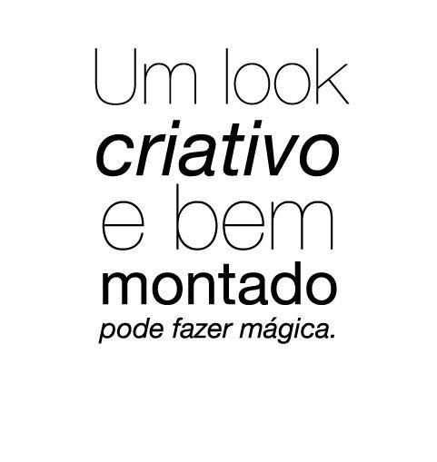 Criação Fashion: Bom dia ♥