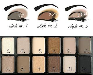 Aprende a Maquillarte con la Paleta de Sombra The Nudes Maybelline | € 9,95 | - Página Femenina