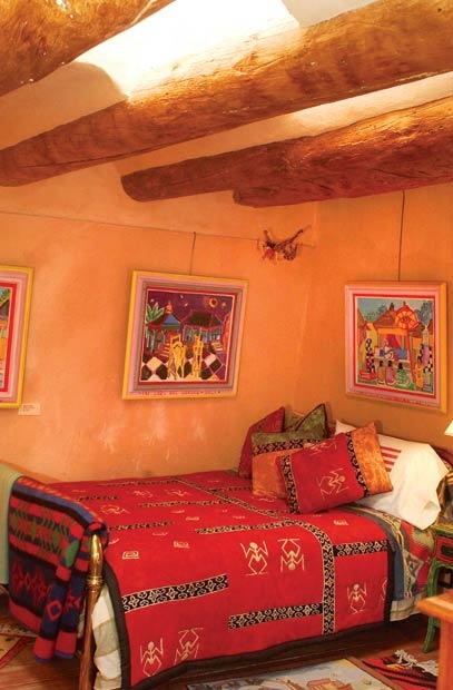 Inger Jirby Guesthouse in Taos, NM.  I had friends stay there while visiting me and they loved it.