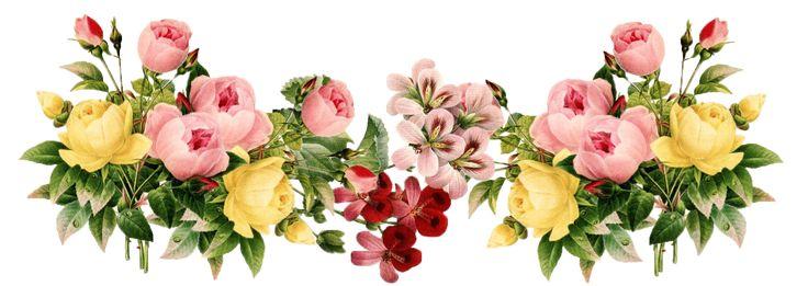 Vintage Flowers | ... vintage flowers – vintage Etikette und Blumenrahmen png – Freebies