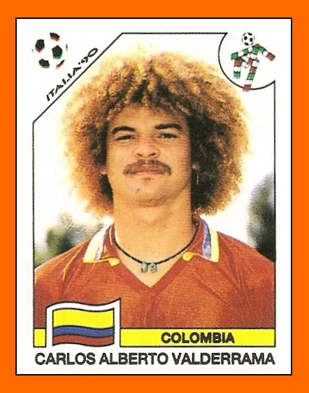 valderrama...futbol...not football..lol..but whatever!