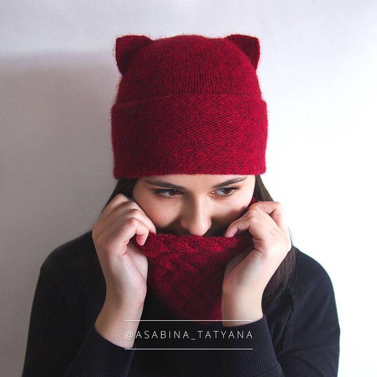 Котошапка, до конца марта стоимость 1200 руб, отправлю в любой город и любую страну)     #knitting #knittersofinstagram #knitstagram #instaknit #knitted #knittingaddict #handknit #knittinglove #iloveknitting #i_loveknitting #knits #knitting_inspiration #knitter #instaknitting #knittersoftheworld #knitters #knittedhat #вязание #вяжутнетолькобабушки #вязаниеназаказ #вяжуназаказ #вяжу #люблювязать #вяжуспицами #кауни #шапка #шапкаспицами #котошапка #шапканазаказ #вязанаяшапка