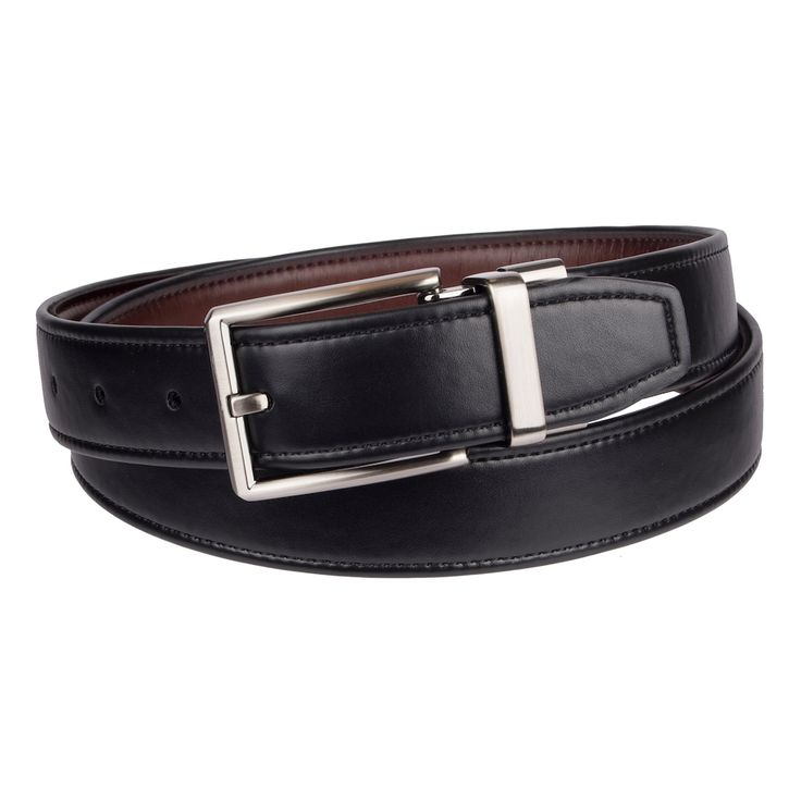 Men's Dockers® Reversible Stretch Belt, Size: Medium, Med Grey