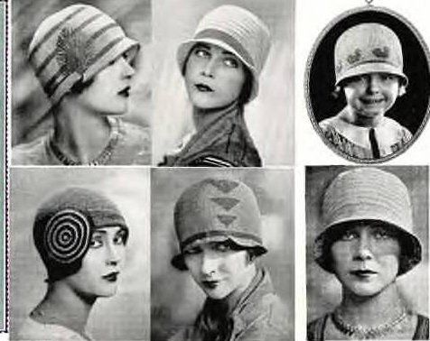 More Hats. 1920s.