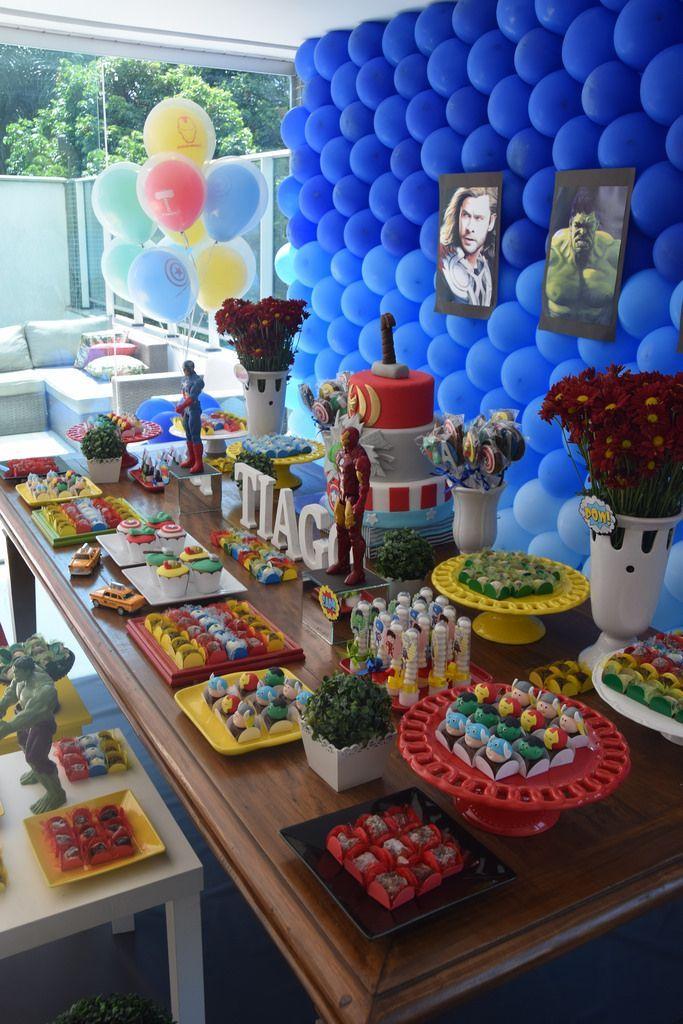 Festa Vingadores maesbrasileiras.com.br