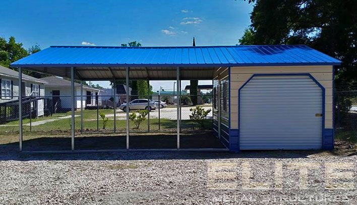 20 Wx31 Lx9 H Vertical Roof Utility Carport In 2020 Carport With