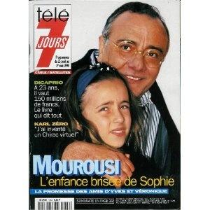 Télé 7 jours (n°1978) du 25/04/1998 - Yves Mourousi - ... [Magazine mis en vente par Presse-Mémoire]