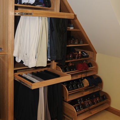 17 Best Images About Attic Closets On Pinterest Laundry