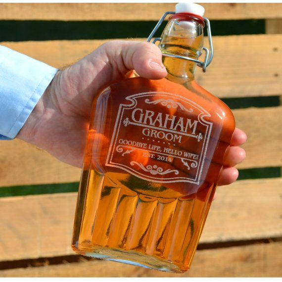 Flask for Personalized Groomsman Gift by UrbanFarmhouseTampa