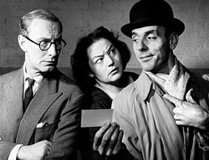 1961 - Eric Sykes: Richard Wattis, Hattie Jacques and Eric Sykes in 'Sykes And A Salesman'