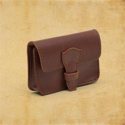 saddleback leather leather and belt on