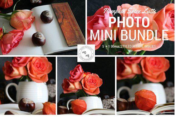 Pumpkin Spice Latte Mini PhotoBundle by Marie Mathilda's Shop on @creativemarket