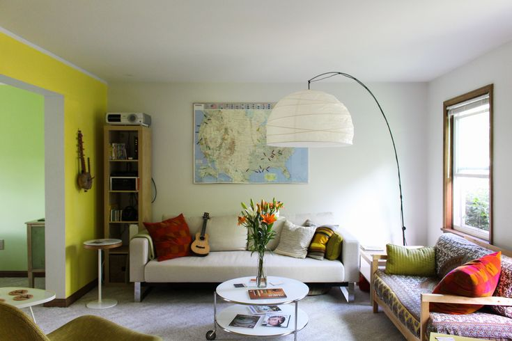 Paint colors that match this Apartment Therapy photo: SW 9183 Dark Clove, SW 6706 Offbeat Green, SW 9032 Stay in Lime, SW 6549 Ash Violet, SW 7017 Dorian Gray