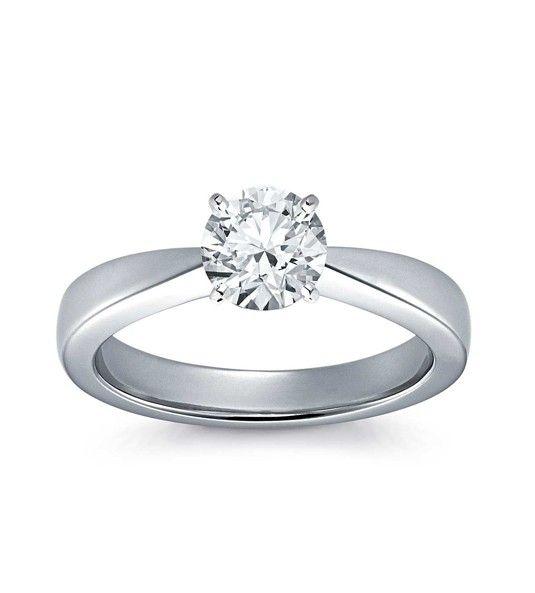 Solitario de diamantes y oro PLACER