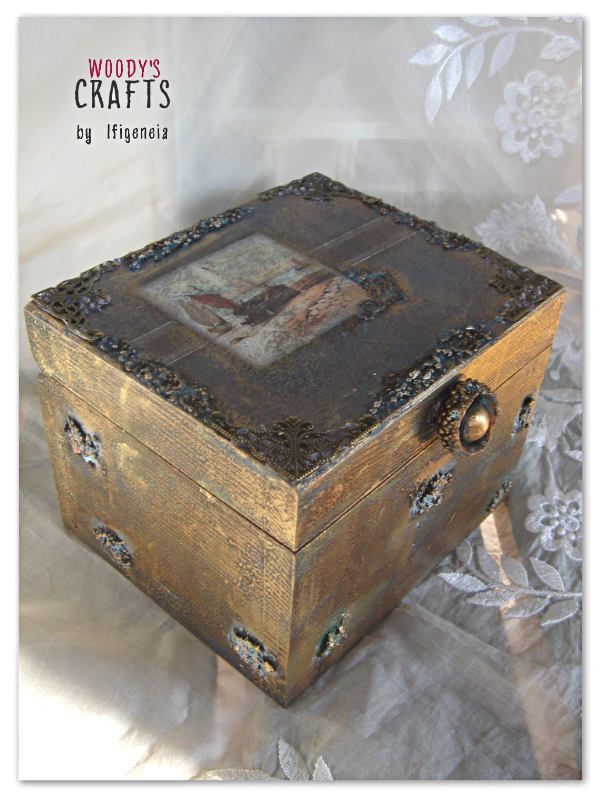 Ξύλινη Χειροποίητη Μπιζουτιέρα | Κουτιά Αποθήκευσης | Woody's Crafts by Ifigeneia