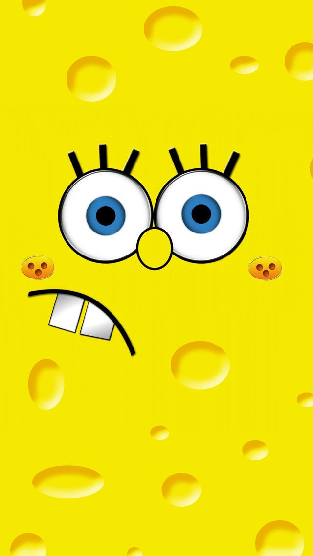 Spongebob Face iPhone 5 Wallpapers HD Books Worth