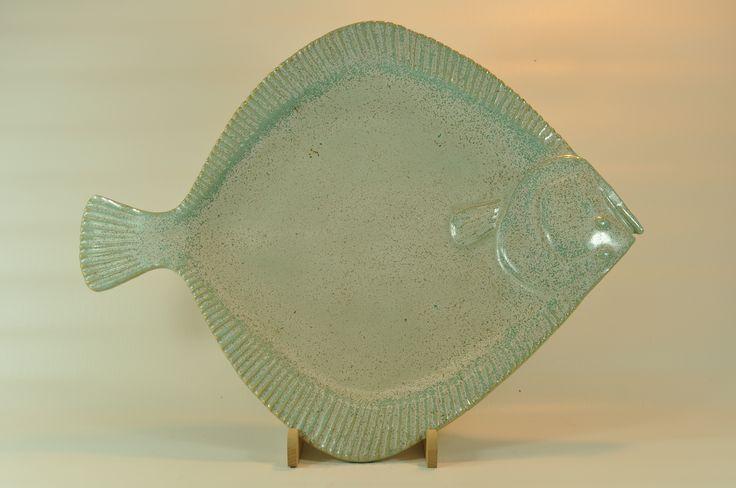 Pighvar-tallerken - plate:Psetta Maxima