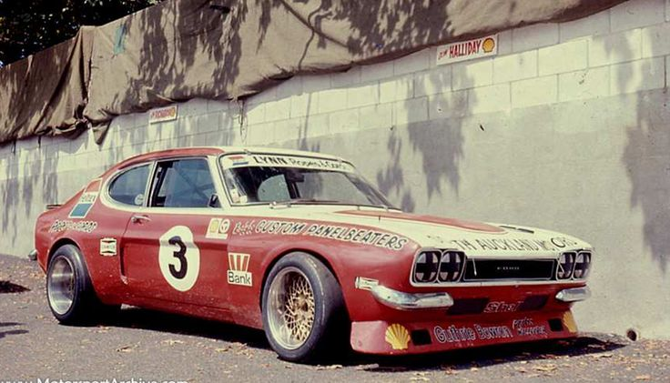 Ford Capri MKI Racing. 1975.