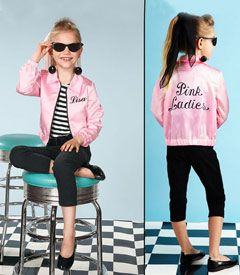 personalized pink lady costume- this would be awesome! Maybe next year