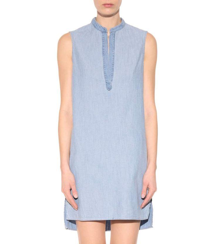 Barcelona blue chambray dress