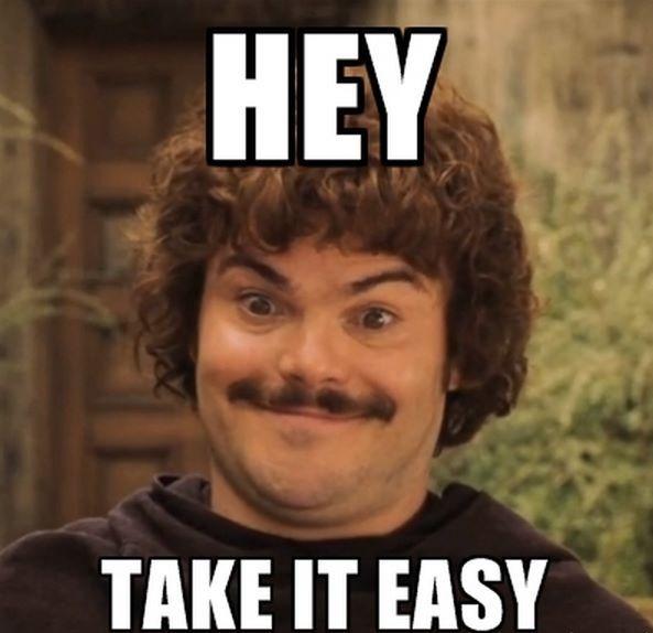 Nacho Libre says take ...
