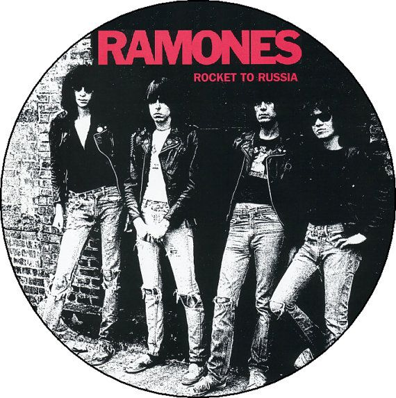 Rocket to Russia RAMONES Button Badge Pinback Pin by BeatGorilla