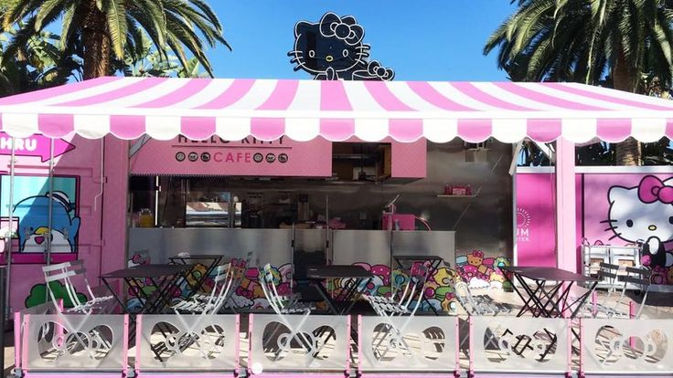 America's First Hello Kitty Cafe Unleashes Cuteness on Southern California - Eater
