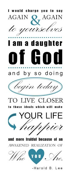 Divination Nature, Printables Handouts, Church, God Printables, Young Daughters Quotes, Young Women, Lds Quotes Daughter Of God, Dr. Who, Daughters Of God Quotes